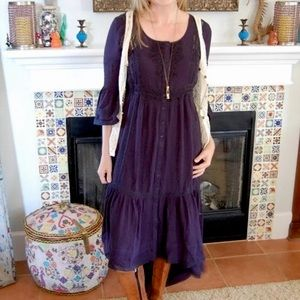 NWOT Free People Estelle Maxi dress 0